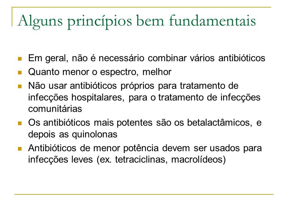 Alguns princípios bem fundamentais