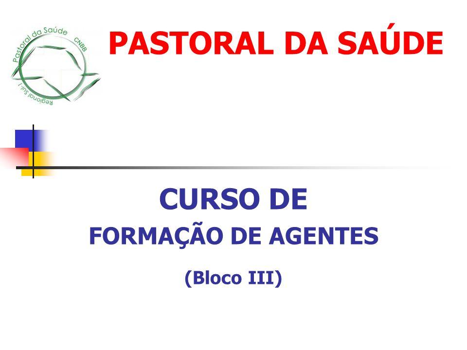 CURSO DE FORMAÇÃO DE AGENTES (Bloco III)