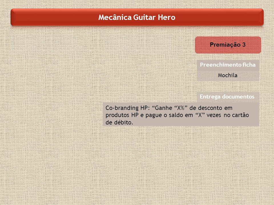 Mecânica Guitar Hero Premiação 3