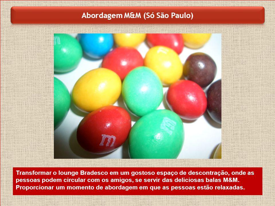 Abordagem M&M (Só São Paulo)