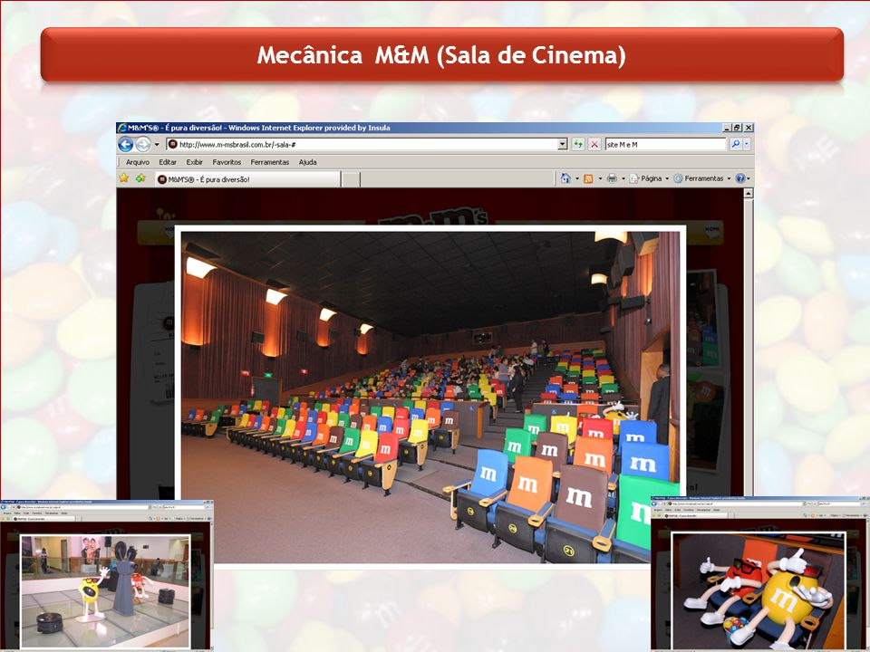 Mecânica M&M (Sala de Cinema)