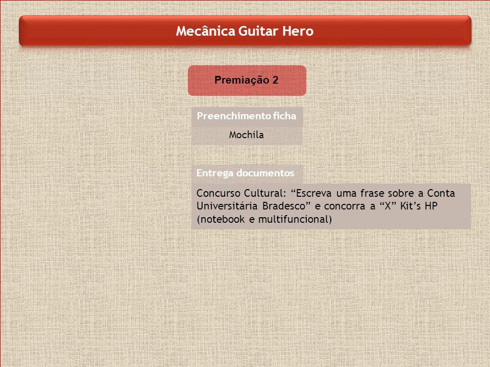 Mecânica Guitar Hero Premiação 2