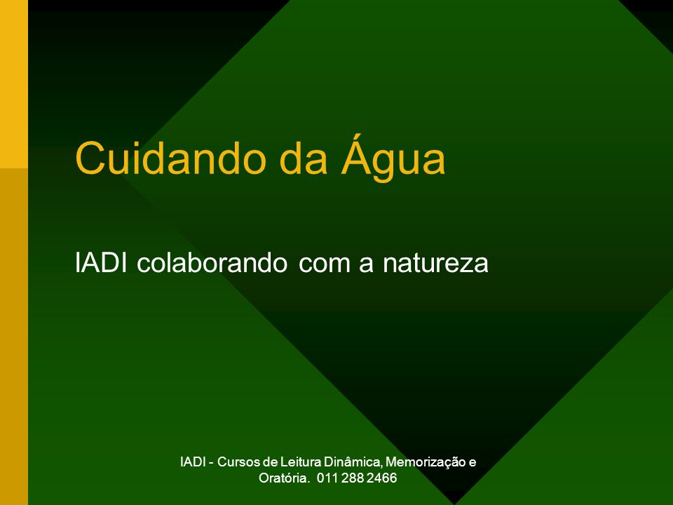 IADI colaborando com a natureza