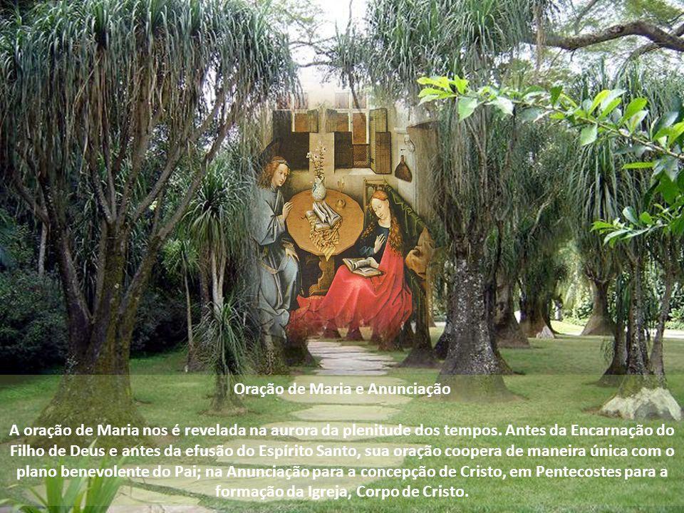 Oração de Maria e Anunciação