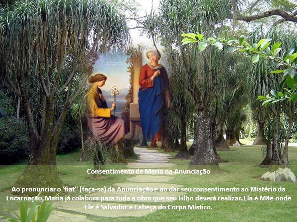 Consentimento de Maria na Anunciação