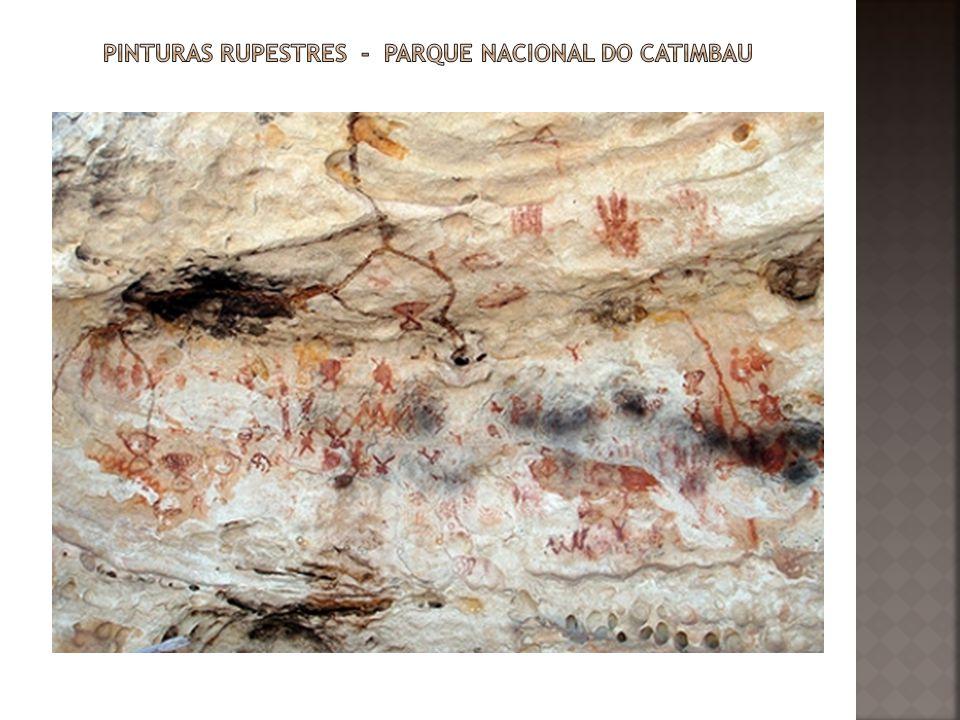 Pinturas rupestres - Parque Nacional do Catimbau