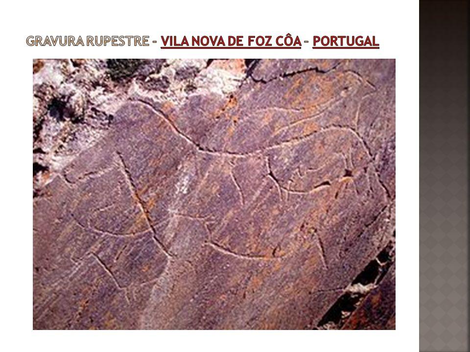 Gravura rupestre - Vila Nova de Foz Côa – Portugal