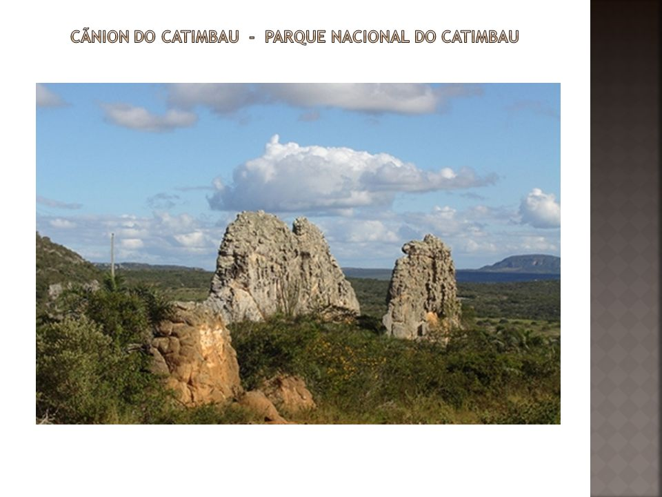 Cãnion do Catimbau - Parque Nacional do Catimbau
