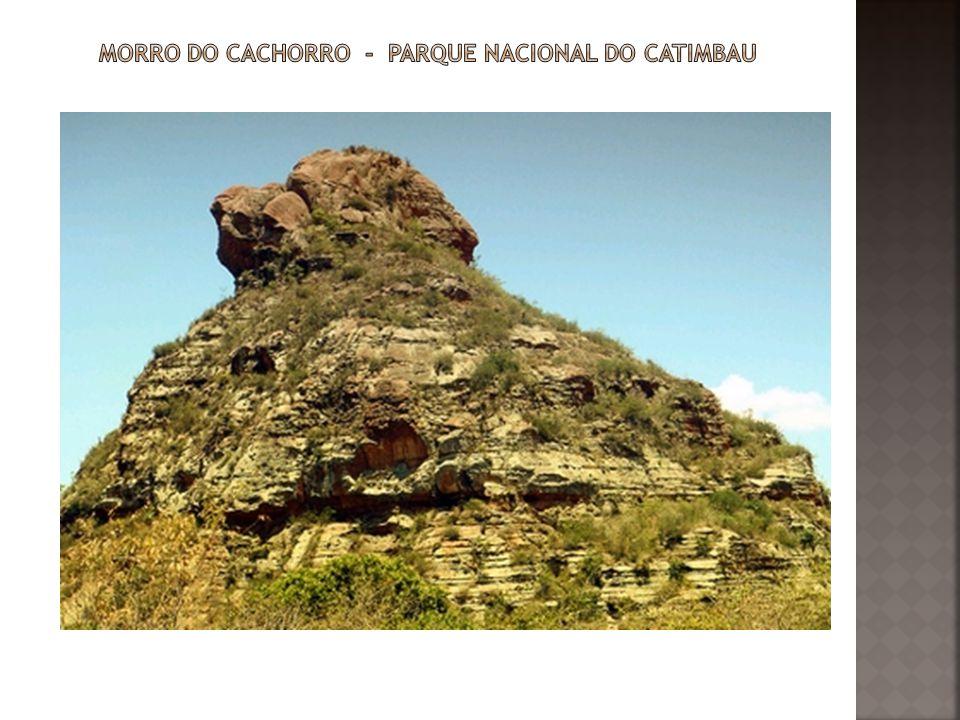 Morro do cachorro - Parque Nacional do Catimbau