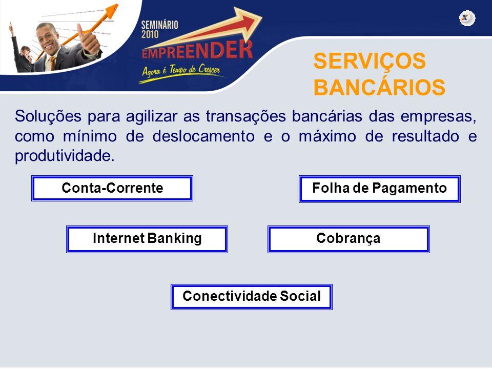 SERVIÇOS BANCÁRIOS.