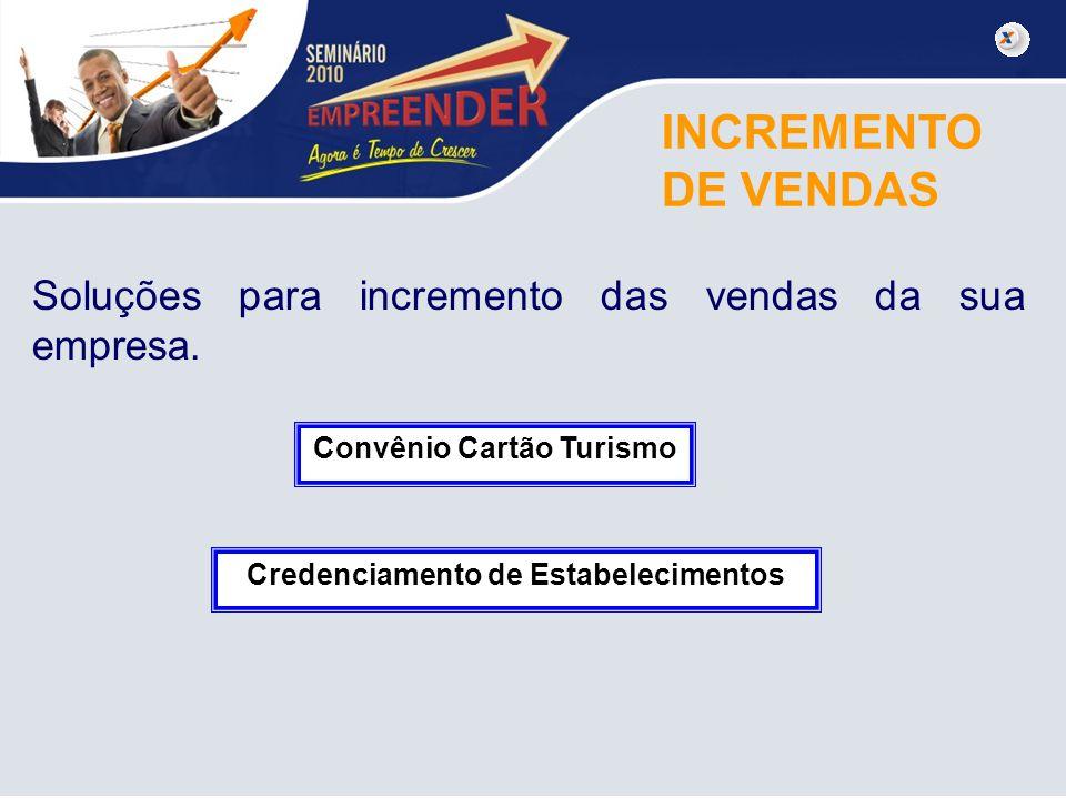 Convênio Cartão Turismo Credenciamento de Estabelecimentos