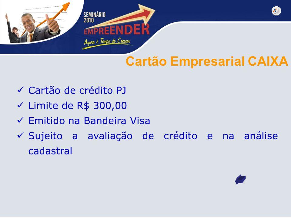 Cartão Empresarial CAIXA