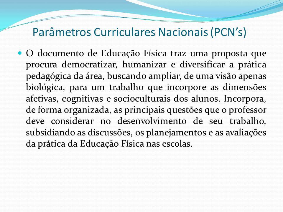 Parâmetros Curriculares Nacionais (PCN's)