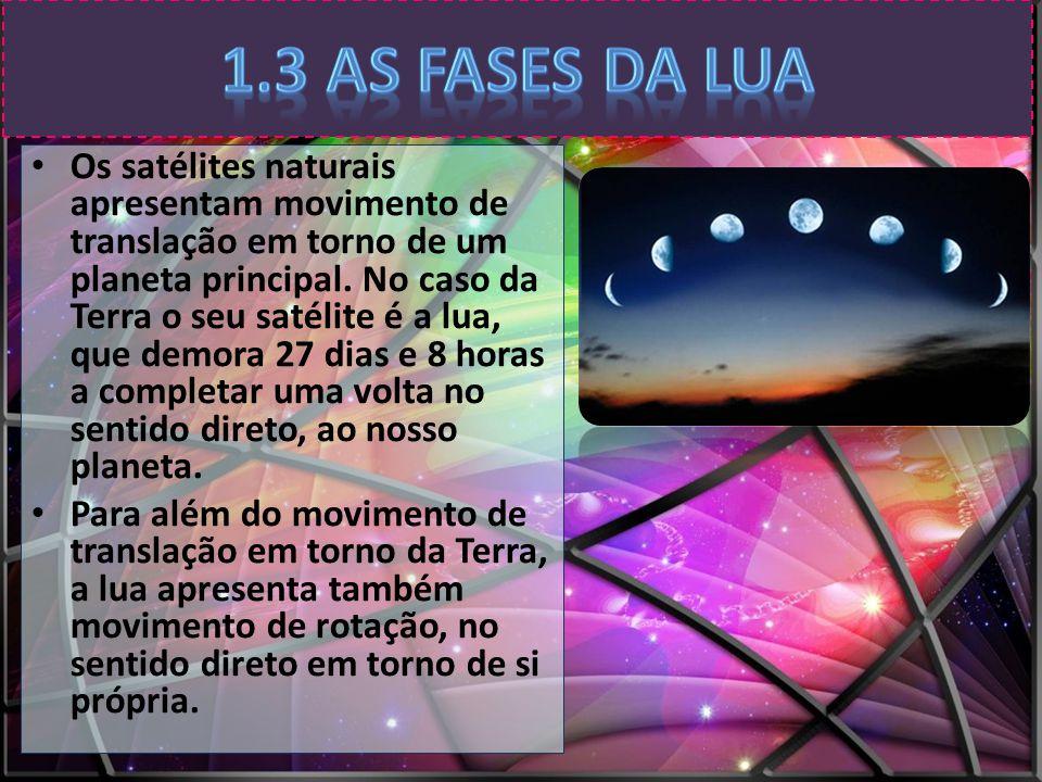 1.3 As fases da Lua