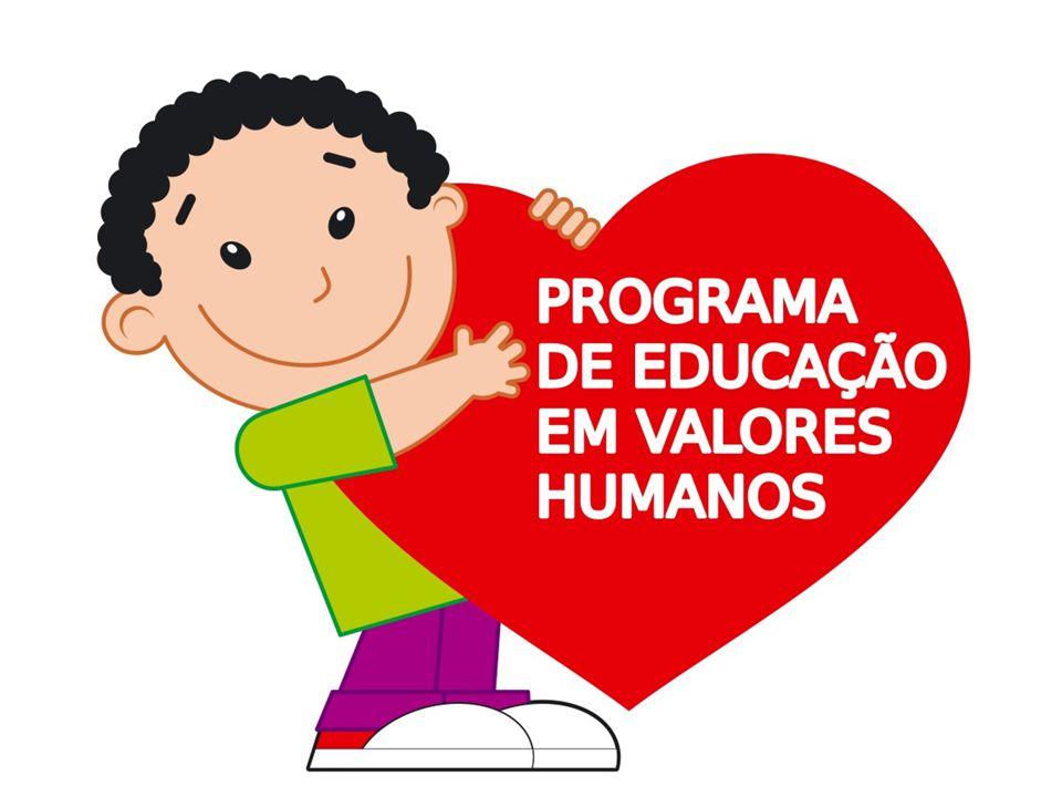 Nas escolas onde o Programa de Educação em Valores Humanos é desenvolvido, a criança aprende desde cedo a prática dos 5 valores fundamentais à construção de um caráter sólido: VERDADE, AÇÃO CORRETA, PAZ, AMOR E NÃO-VIOLÊNCIA. Isso vai fazer dela um ser humano inteiro - amoroso, solidário, leal... Aprende a desenvolver suas potencialidades naturais e o sentido da UNIDADE - somos um só corpo, uma só energia. A compaixão de uns pelos outros é o resultado natural desse modelo de Educação, que já é sucesso em mais de 130 países da Europa e da Ásia. A sociedade que até agora viveu do descartável e do superficial, anseia pela profundidade das coisas verdadeiras. É tempo de banir a violência de nossas vidas; de entender o próximo como a extensão de nós mesmos; de abrir o coração e de ser feliz!