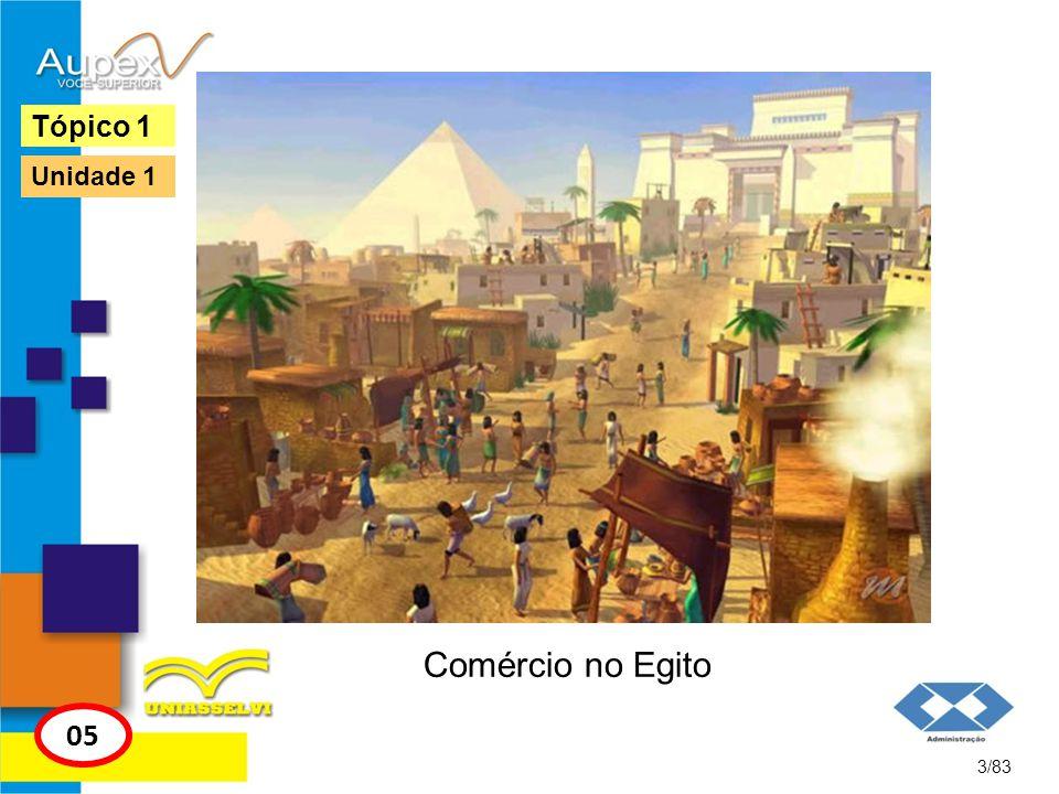 Tópico 1 Unidade 1 Comércio no Egito 05 3/83