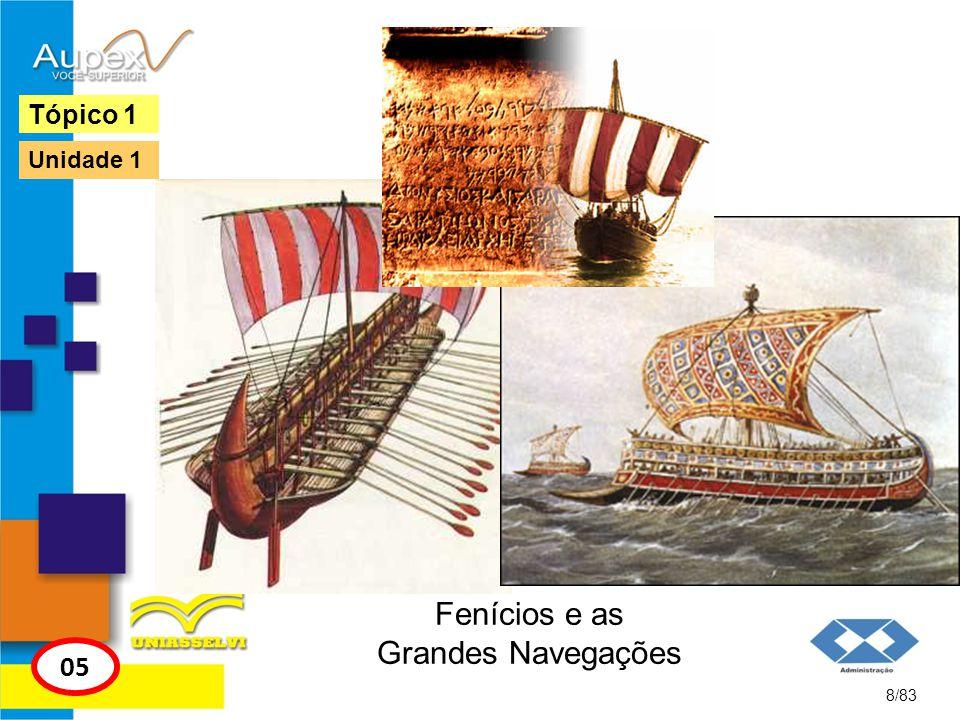 Fenícios e as Grandes Navegações