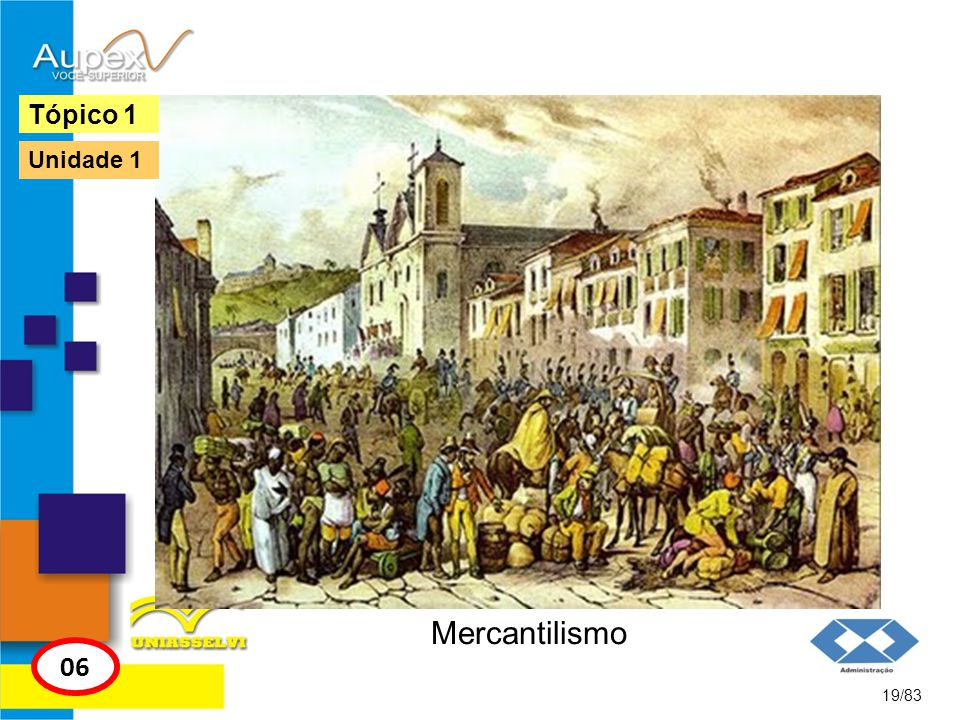 Tópico 1 Unidade 1 Mercantilismo 06 19/83