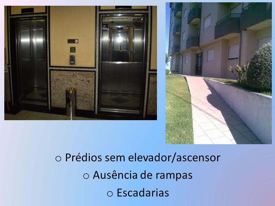 Prédios sem elevador/ascensor