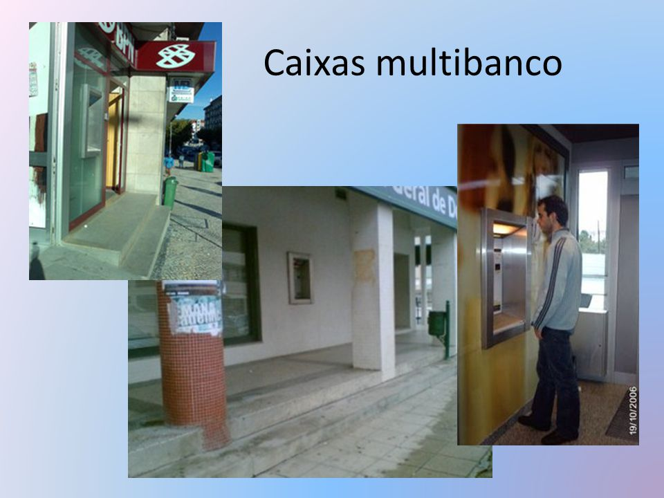 Caixas multibanco