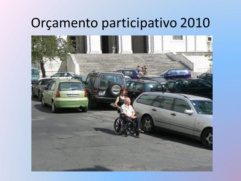 Orçamento participativo 2010