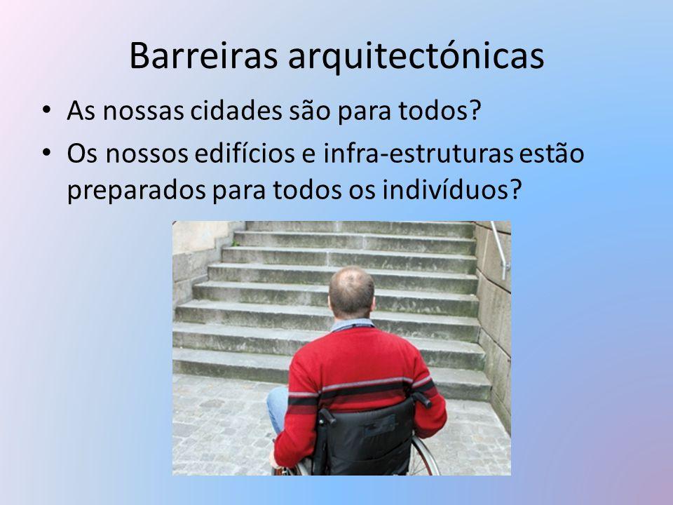 Barreiras arquitectónicas