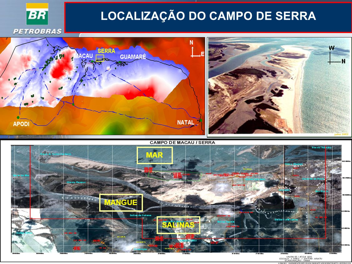 LOCALIZAÇÃO DO CAMPO DE SERRA