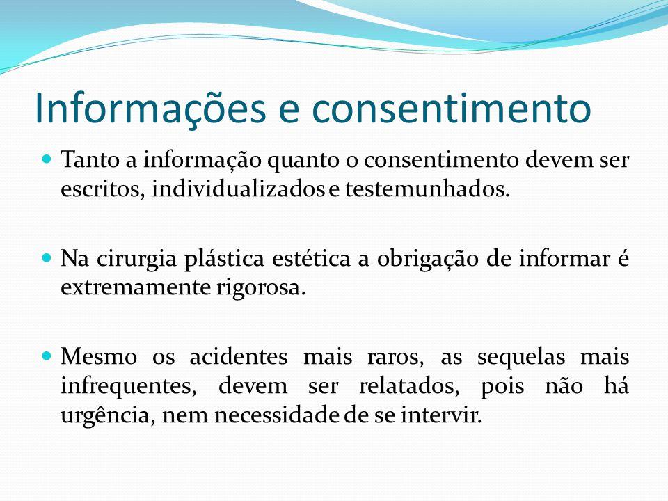 Informações e consentimento