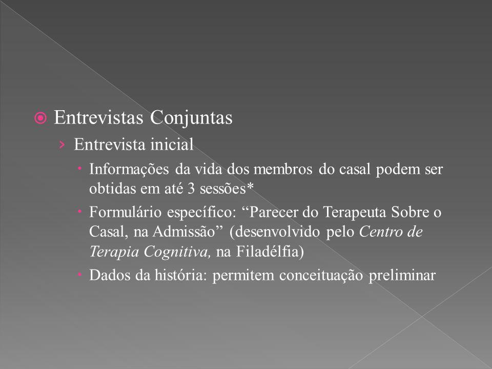 Entrevistas Conjuntas