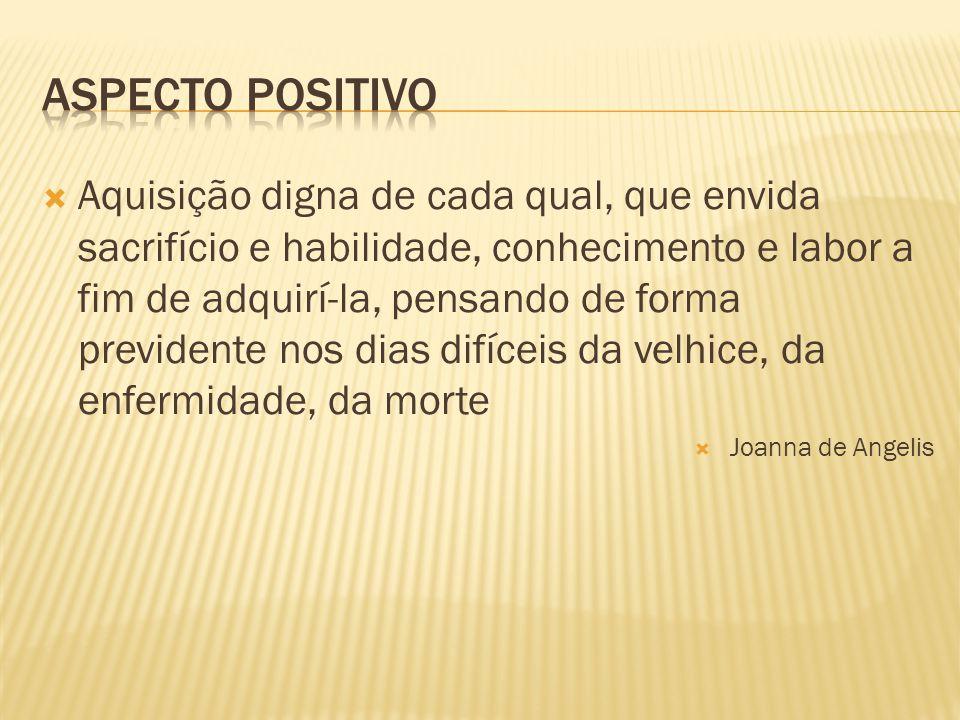 Aspecto positivo