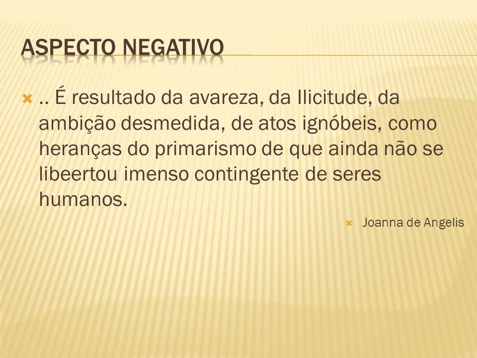 Aspecto negativo