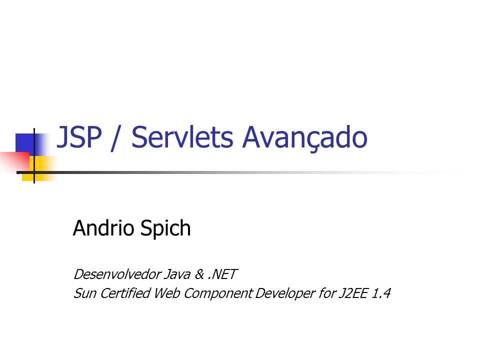 JSP / Servlets Avançado
