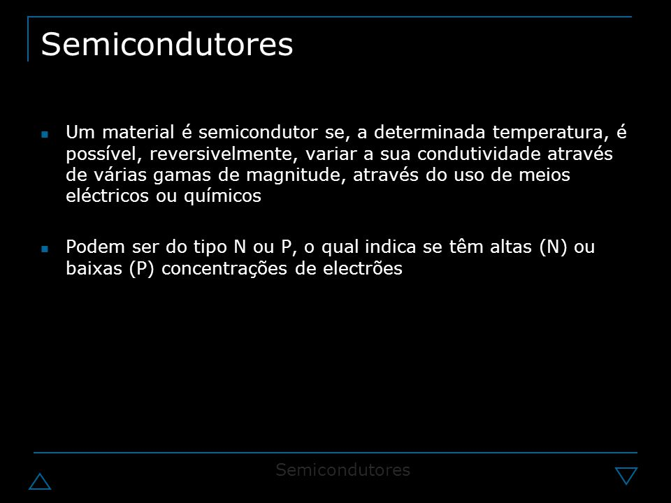 Semicondutores