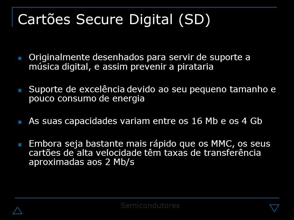 Cartões Secure Digital (SD)