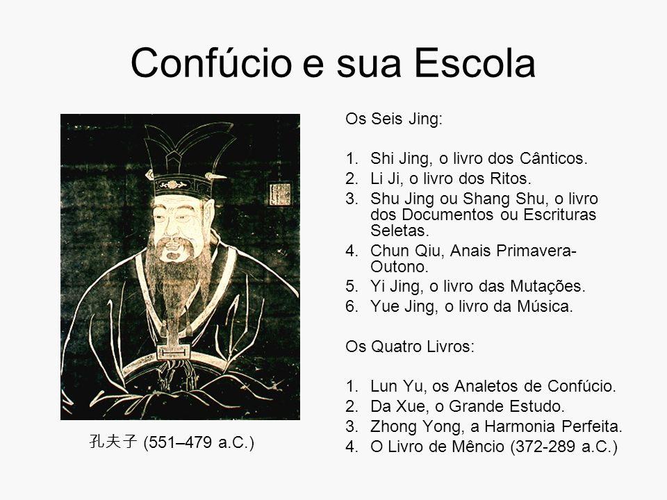 Confúcio e sua Escola Os Seis Jing: Shi Jing, o livro dos Cânticos.