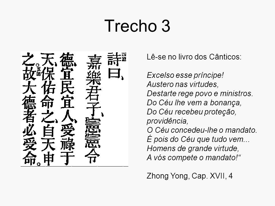 Trecho 3 Lê-se no livro dos Cânticos: