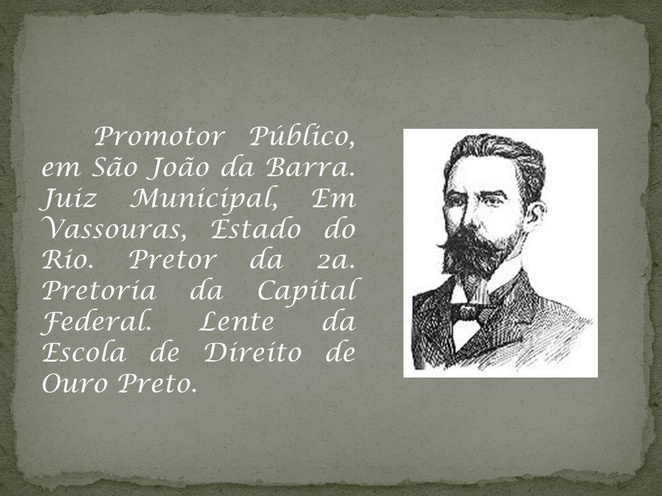 Promotor Público, em São João da Barra