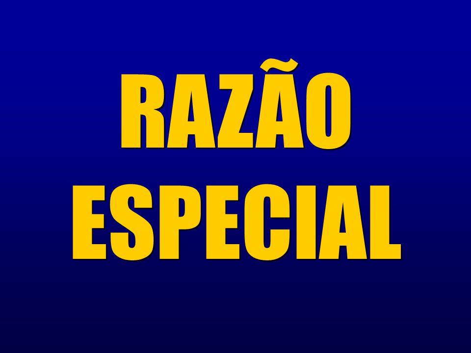 RAZÃO ESPECIAL