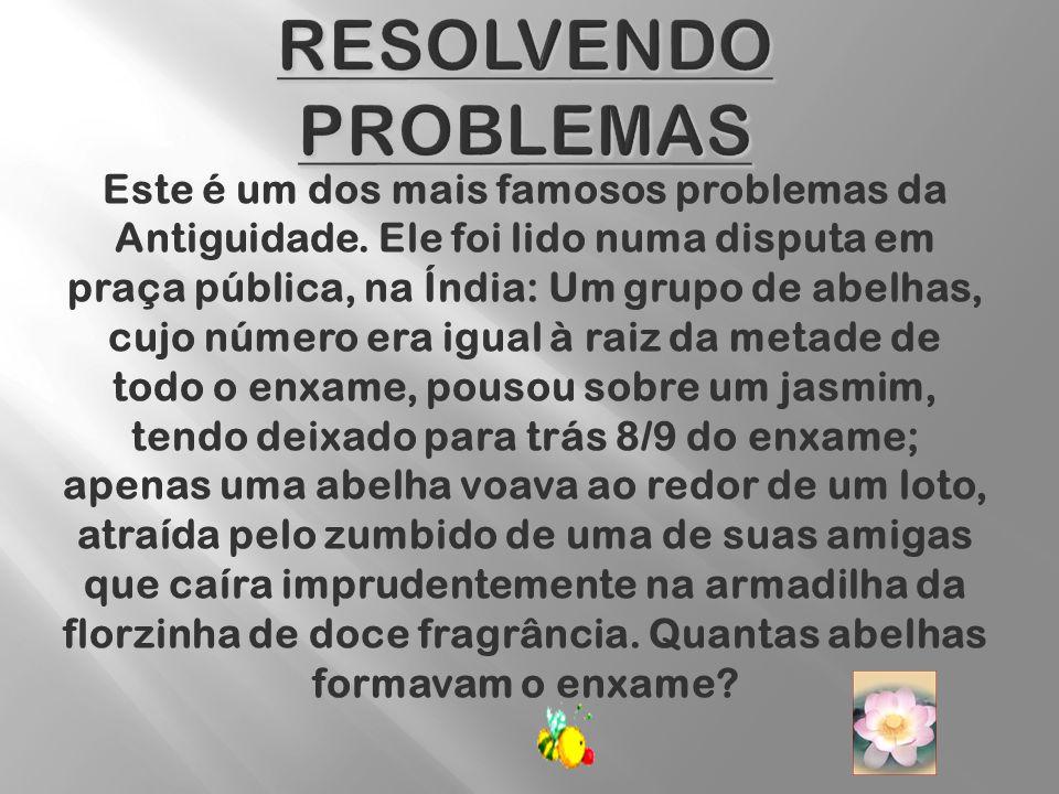 Resolvendo Problemas