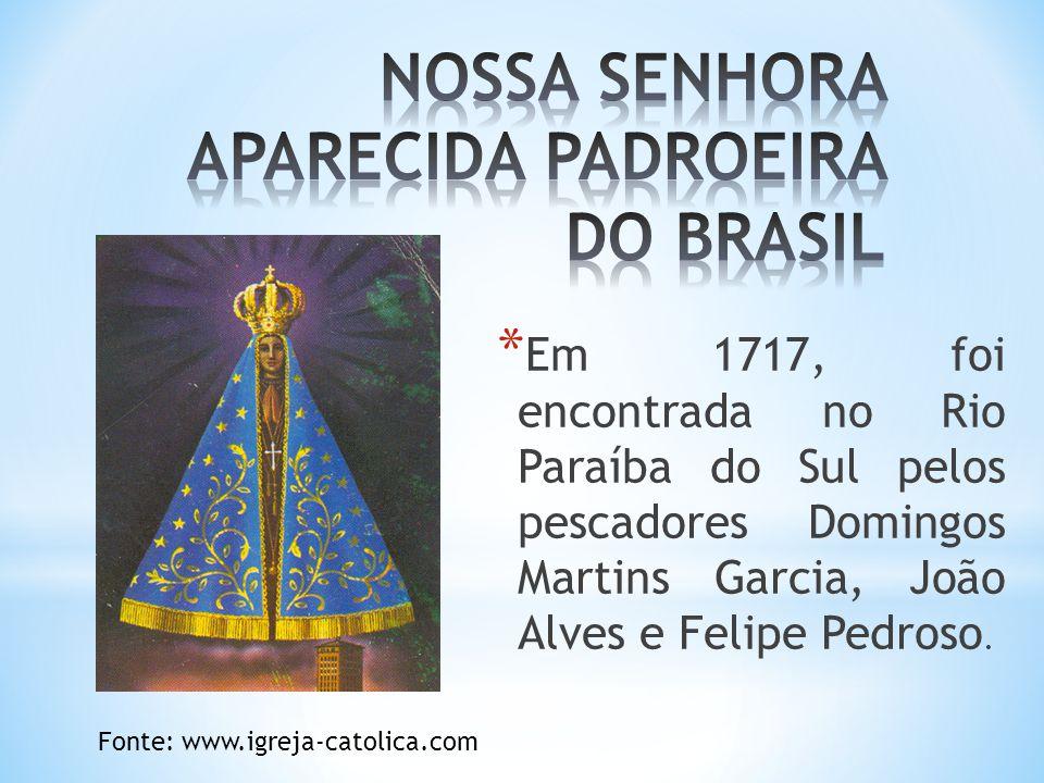 NOSSA SENHORA APARECIDA PADROEIRA DO BRASIL