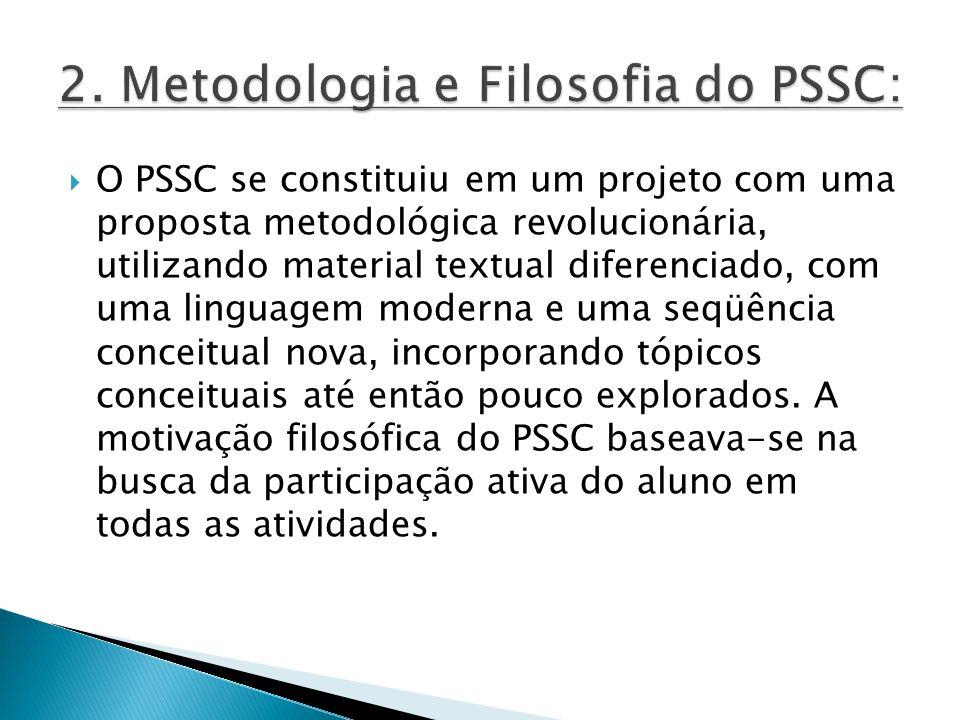 2. Metodologia e Filosofia do PSSC: