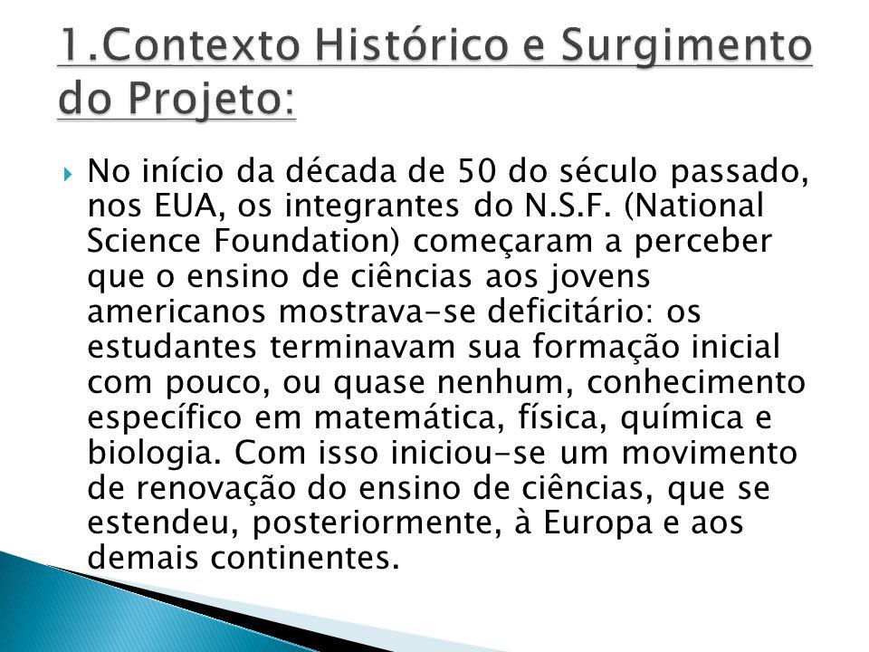 1.Contexto Histórico e Surgimento do Projeto: