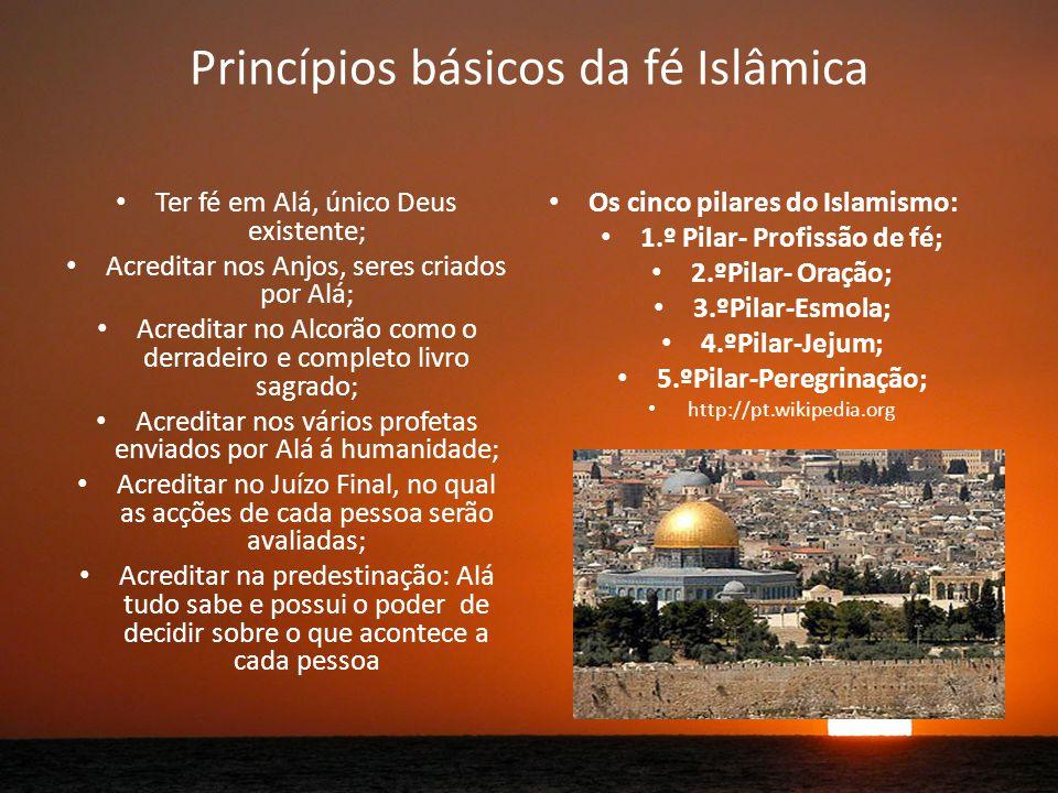 Princípios básicos da fé Islâmica