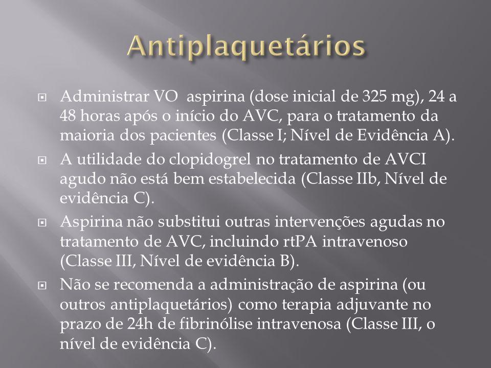 Antiplaquetários