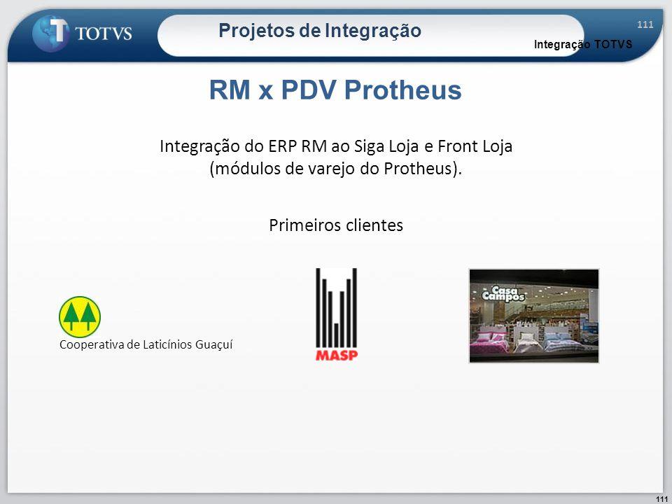 Projetos de Integração