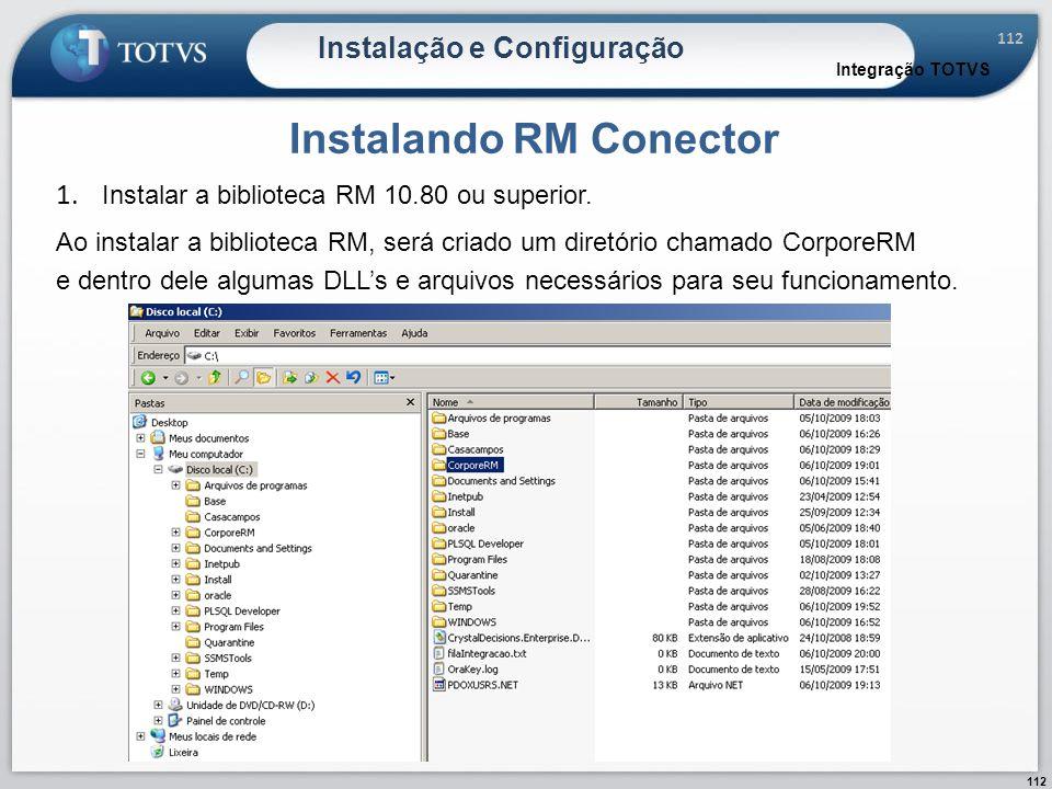 Instalando RM Conector