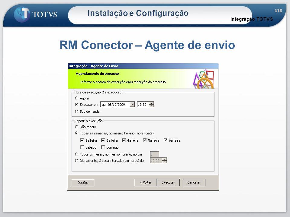 RM Conector – Agente de envio