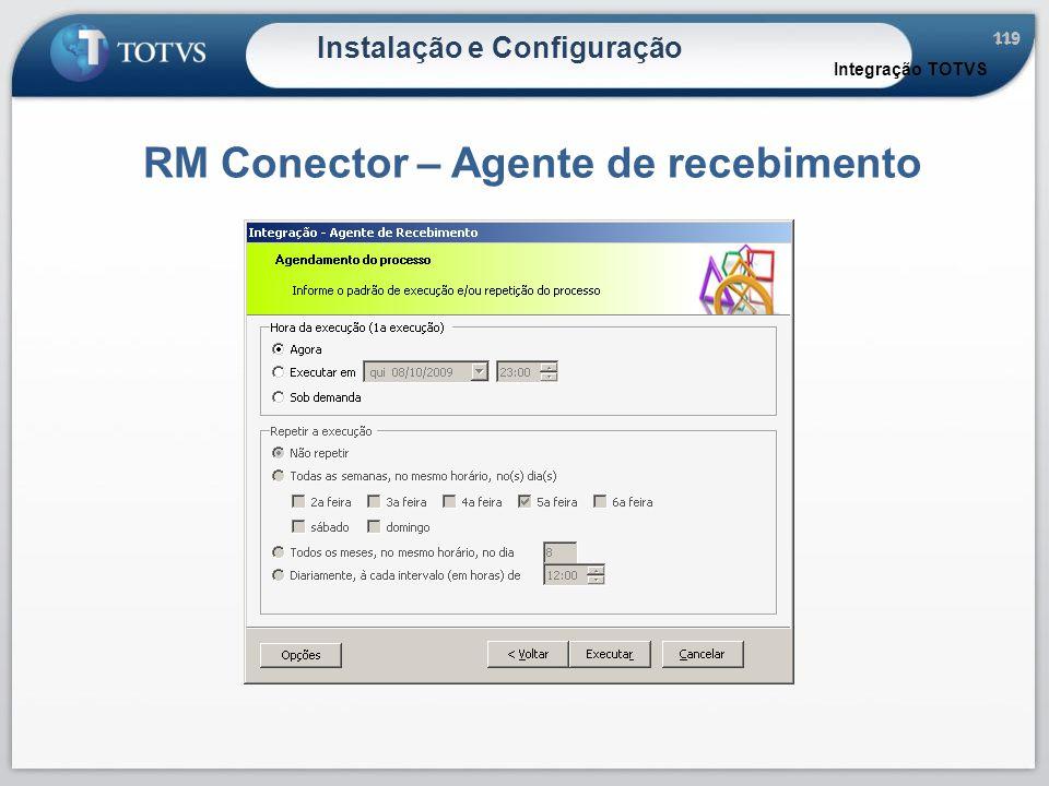RM Conector – Agente de recebimento
