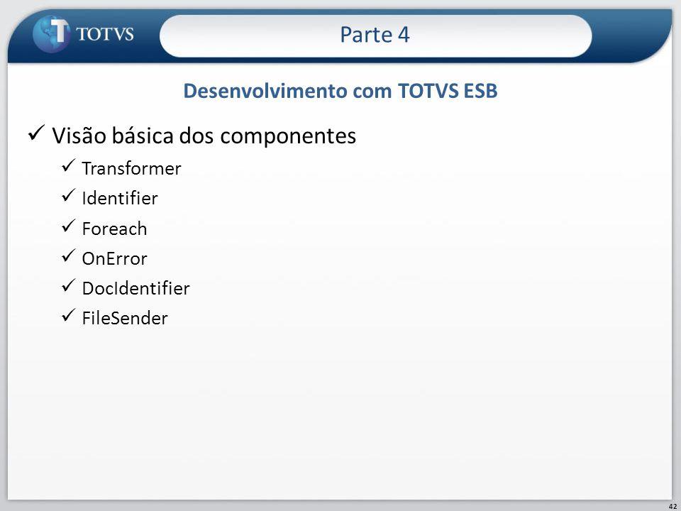 Desenvolvimento com TOTVS ESB