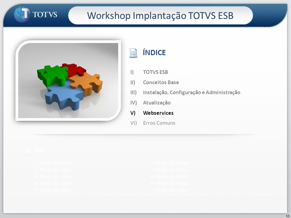 Workshop Implantação TOTVS ESB